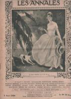LES ANNALES 3 08 1924 - JEUX OLYMPIQUES - HENRI DESGRANGE - OLYMPIE GRECE - LA PUBLICITE - LES CHIENS - ANTHRAX - Sonstige