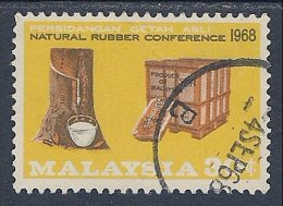 Malaysia ~ National Rubber Conference ~ SG 52 ~ 1967 ~ Used - Malaysia (1964-...)
