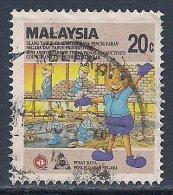 Malaysia ~ National Productivity Council ~ SG 358 ~ 1986 ~ Used - Malaysia (1964-...)
