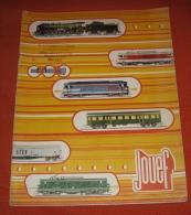 1 Catalogue Jouef 1974 - Francia