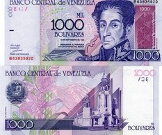 P79 Venezuela 1000 Bolivares 1998 UNC - Venezuela