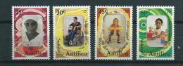 1981 Netherlands Antilles Complete Set Int. Year Of Disabled People MNH,Postfris,Neuf Sans Charniere - Curaçao, Nederlandse Antillen, Aruba