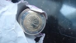 2 Euro € Commémorative De CHYPRE ´10 Ans De L´euro 2009  EMU - Chypre
