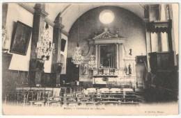 91 - MASSY - Intérieur De L'Eglise - Edition Caillot - Massy