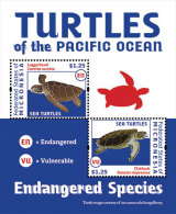 MICRONESIA  MINT N.H SCOTT # ?? ; IGPC 1217 SS  ( TURTLES - Micronesia