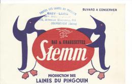 Bas & Chaussettes/Stemm/Laines Du Pingouin/ Baby-Laine /COURBEVOIE/Vers 1945-1955    BUV55 - Textilos & Vestidos