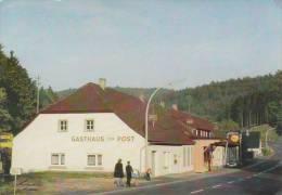 Ak Mespelbrunn, Spessart, Gasthaus Zur Post - Aschaffenburg