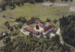 Ak Lichtenau, Spessart, Unterfranken, Gasthaus Hochspessart, Luftaufnahme - Aschaffenburg