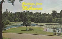 BT18885 Royal Botanic Gardens Melbourne   2 Scans - Australie