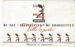 Bas & Chaussettes/Horse Guard/Derbyfix/TROYES/Rom Ans /Vers 1945-1955    BUV56 - Textile & Clothing