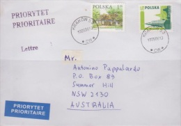 Poland 2006 Cover Sent To Australia - Used Stamps