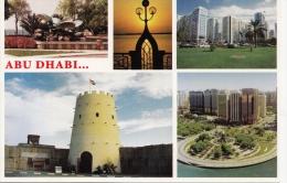 BT19222 Views Of Abu Dhabi The Capital  2 Scans - Emirats Arabes Unis