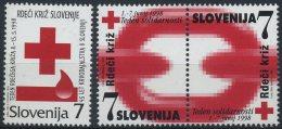 Slovenia 1998 - Red Cross -  MNH Michel Z15-Z17 - Slovenia