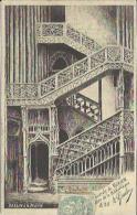 CPA Illustrée De ROUEN - Dessin à La Plume - Cathédrale - Escalier De La Bibliothèque. - Rouen