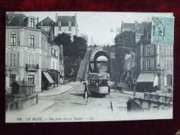FROM - 72 -  LE MANS - VUE PRISE VERS LE TUNNEL (TRAMWAY) - Le Mans