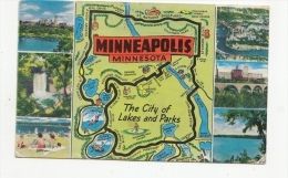 BT19428 The City Of Lakes And Parks Minneapolis   2 Scans - Minneapolis