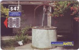 "Télécarte D'URUGUAY ""Mas Cercas De Todos "" $47 Vide  TTB   N° Lot: 02994151 - Uruguay"