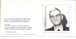Hugo MAERTEN Zoon Van L. En R. Pareyn Poperinge 1930 Ieper 2001 Aalmoezenier Ieper Priester - Images Religieuses