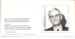 Hugo MAERTEN Zoon Van L. En R. Pareyn Poperinge 1930 Ieper 2001 Aalmoezenier Ieper Priester - Devotion Images