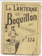 @N°2 LA LANTERNE  DE BOQUILLON PAR A. HUMBERT N°134  23 Mai 1875 HUMOUR CARICATURES PATOIS - Non Classés