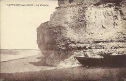 CPA De VATTETOT SUR MER - La Falaise. - France