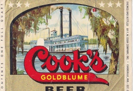 COOK`S  GOLDBLUME BEER  --   UNITED STATES - Poster & Plakate