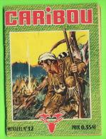 BD, FRANÇAIS - CARIBOU - IMPERIA & CO, 1959 - 66 PAGES - No 12 - - Books, Magazines, Comics
