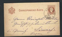ÖSTERREICH 1883 - GANZSACHE -  KARLSBAD**** - Stamped Stationery