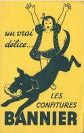 Confitures/ BANNIER/ /Vers 1945-1955    BUV61 - Sucreries & Gâteaux