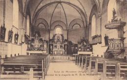 Belgique - Moresnet - Vue Intérieure Chapelle Notre Dame - Oblitération - Plombières