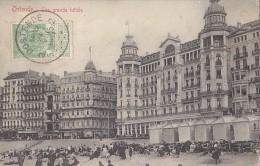 Belgique - Oostende - Grands Hôtels - Oblitération Ostende La Ferté Bernard Scierie - Oostende
