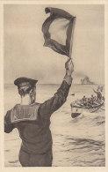 C-1119- Fascismo ONB Illustratore Vittorio Pisani - L'avanguardista Marinaio - F,p, Non Vg. - Illustratori & Fotografie