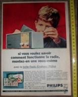PUB PUBLICITE PHILIPS BOITE RADIO  ENGINEER - Collections