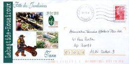 PAP Prêt à Poster Beaujard Labastide-Rouairoux Tarn Jardin Garden Jardiniers Légumes Nature - Entiers Postaux