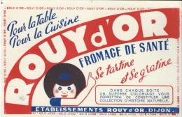 Fromage De Santé/ ROUY D´OR/ DIJON/Côtes D´ORVers 1945-1955    BUV63 - Produits Laitiers