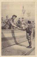 C-1122- Fascismo ONB Illustratore Vittorio Pisani - Il Premio Al Balilla  - F,p, Non Vg. - Illustratori & Fotografie