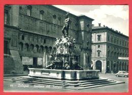 137899 / 1961 BOLOGNA - FONTANA DEL NETTUNO Fountain Of Neptune - FORZE ARMATE E Del COMBATTENTE - Monuments