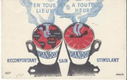 Potages VIANDOX/Huckens/Tours/ Vers 1945-1955    BUV66 - Potages & Sauces