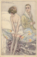 C-1127- Illustratore Mauzan - Coppia Innamorati - Bellissima - F.p. Non Viaggiata - Illustratori & Fotografie