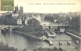 CPA PARIS - ILE DE LA CITE - ECLUSE DE LA MONNAIE - Frankreich