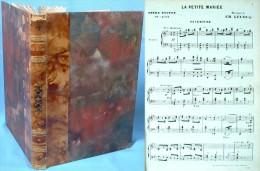 Partition Reliée De L'opéra  La Petite Mariée De Charles Lecocq - Opern