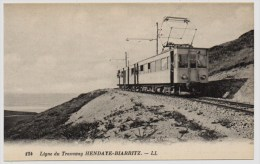 HENDAYE BIARRITZ - 64 - Pays Basque - Ligne Du Tramway - Hendaye