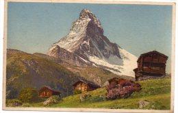 CP, SUISSE, VALAIS, ZERMATT, Stadel Bei Winkelmatten, Matterhorn, Vierge - VS Valais