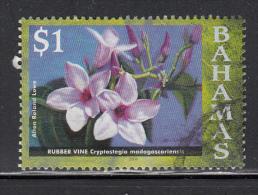 Bahamas Used Scott #1192 $1 Rubber Vine, Dated ´2006´  Scott Watermark ´373´ - Bahamas (1973-...)