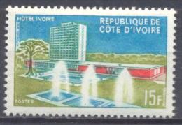 Cote D´Ivoire YT N°248 Hotel Ivoire Neuf ** - Ivory Coast (1960-...)