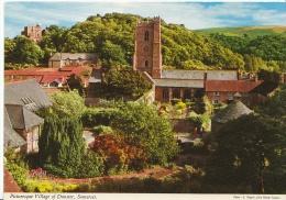 Somerset Postcard - Picturesque Village Of Dunster  LSL1993 - Altri