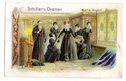 Chromo En Allemand D´ Allemagne Pour Schulers Waschpulver: Schiller, (Schillers Dramen), Maria Stuart - Sin Clasificación