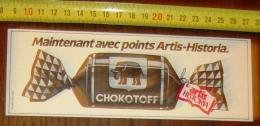 PUB PUBLICITE STRIP CHOCOLAT COTE D OR CHOKOTOFF ARTIS HISTORIA - Vieux Papiers