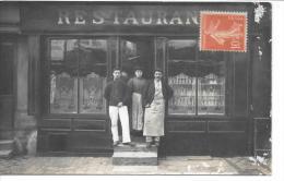 Devanture De RESTAURANT - CARTE PHOTO - Restaurants