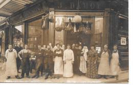 Devanture De MAGASIN - J. DAMOY - CARTE PHOTO - Geschäfte